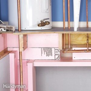 Prevent Frozen Pipes With Insulation and Warm Air