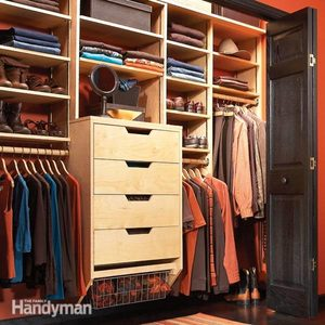 How to Triple Your Closet Storage Space with DIY Built in Closet Drawers