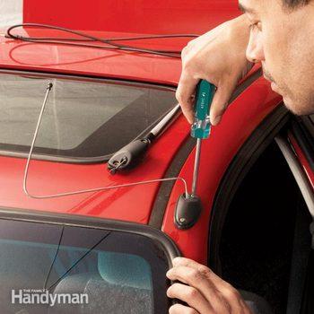 car antenna