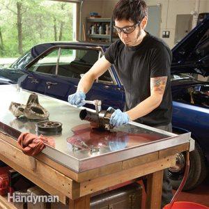 Upgrading Your Garage Workshop