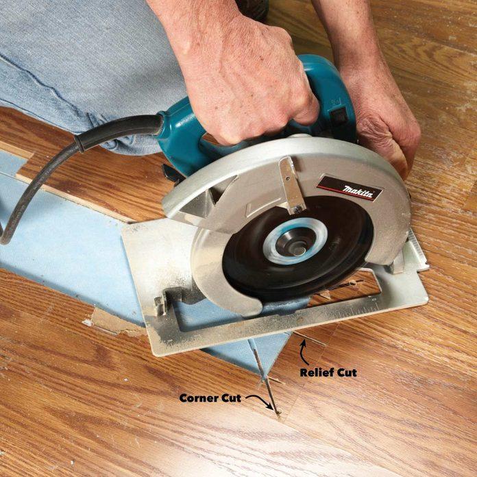 replace laminate floor damage