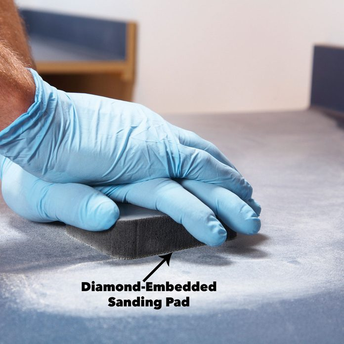 sand old countertops