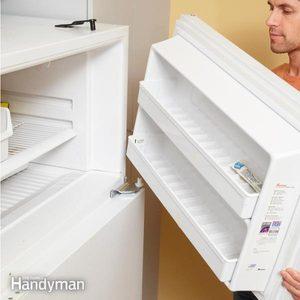 How to Reverse a Refrigerator Door