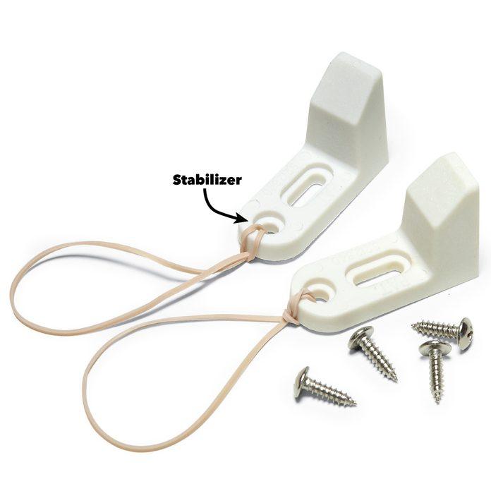 toilet seat repair stabilizers