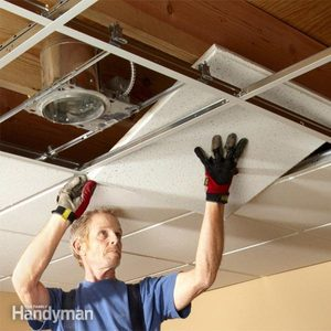 Drop Ceiling Installation Tips: How to Install Drop Ceiling Tiles