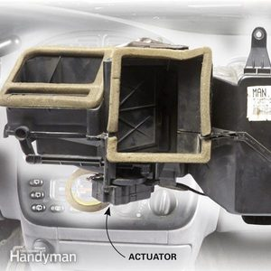 Car Heater Blowing Cold Air? Check the Blend Door Actuator