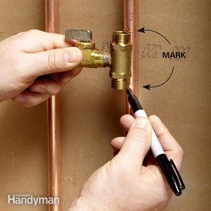 Install a Valve for an Icemaker