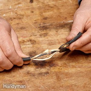 How to Repair a Cut Power Tool Cord