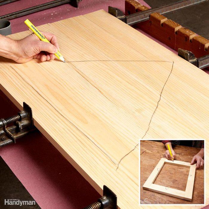 Cabinetmaker's triangle