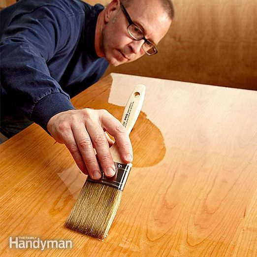 how to finish a tabletop