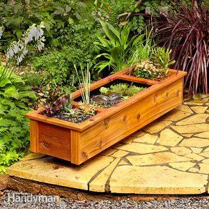 One-Day DIY Patio Garden Pond