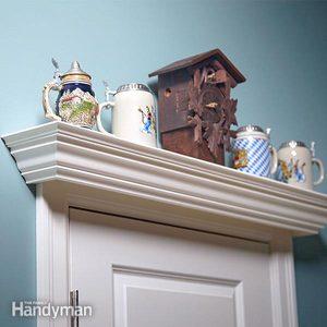 Over the Door Display Shelf Plans