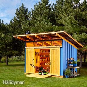 2015 Shed Drawings and Material List