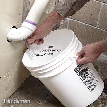 Condensation pump