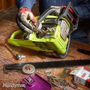 Repair & Rebuild Your Own Chainsaw: DIY Front End Rebuild