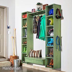 DIY Mudroom Storage Cubby Plans