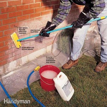 How to Clean Brick