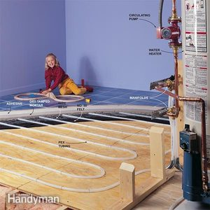 How Hydronic Radiant Floor Heating Works