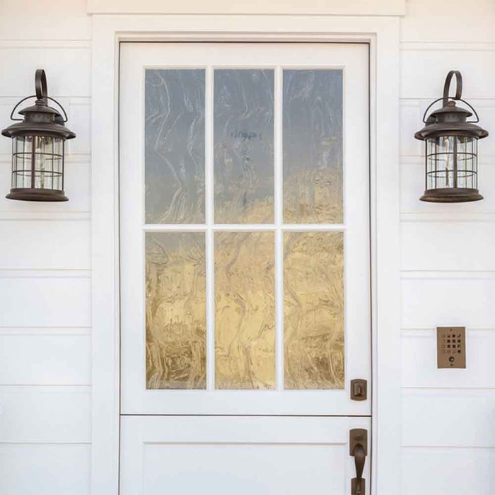 Clean Exterior Light Fixtures