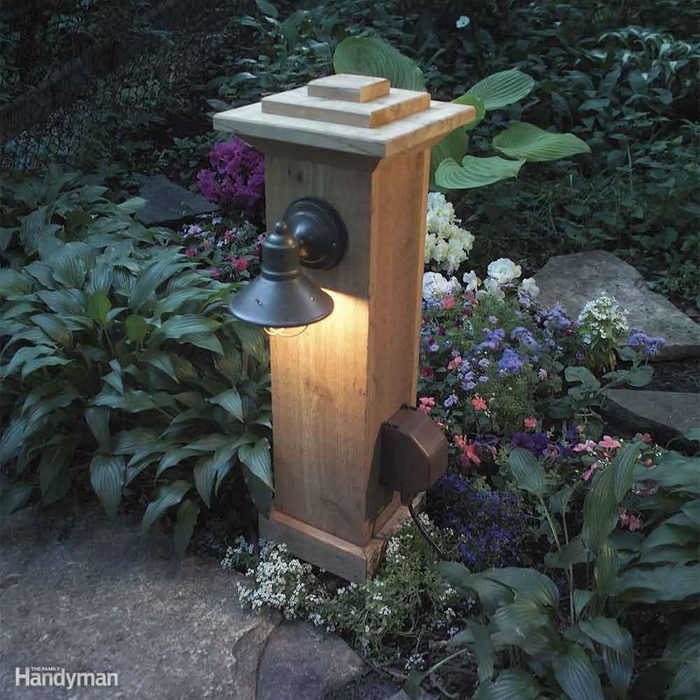 Install Outdoor Lighting and an Extra Outlet
