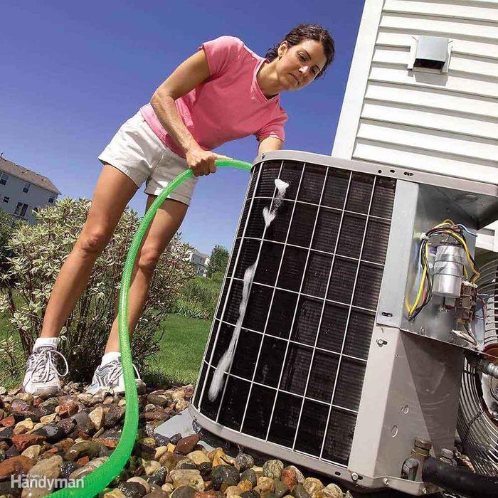 Clean your AC unit.