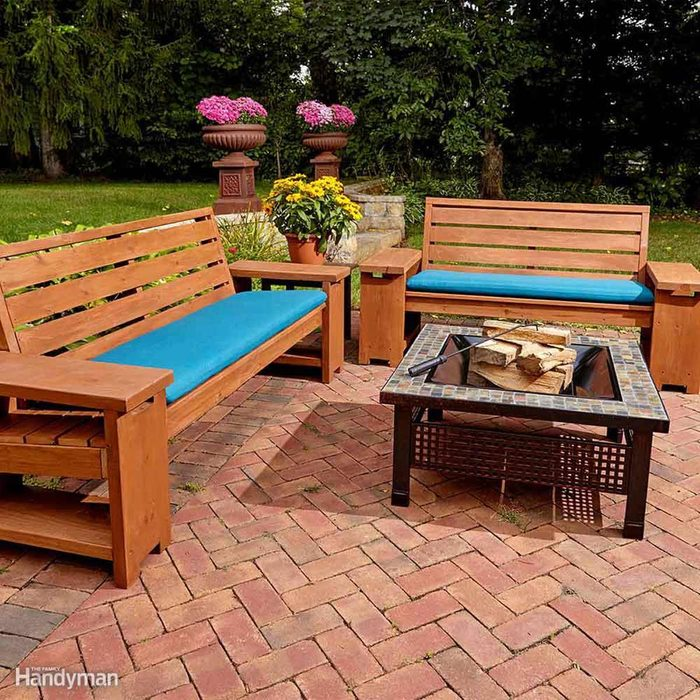 Add Seating with a DIY Wooden Bench
