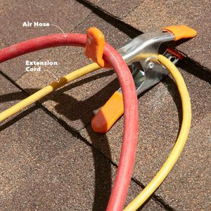 Hang your roofing tools