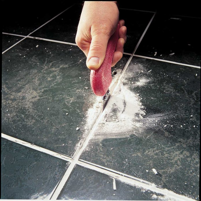 Removing grout