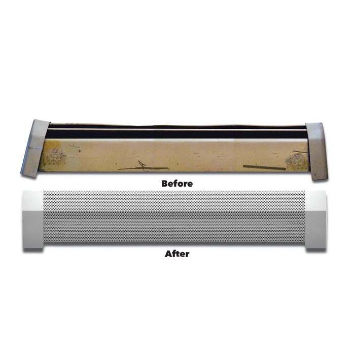 Replace Baseboard Heater Covers