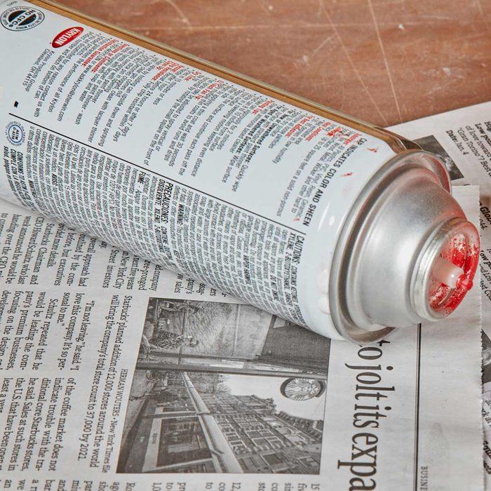Spray Can Tips: Many Light Coats