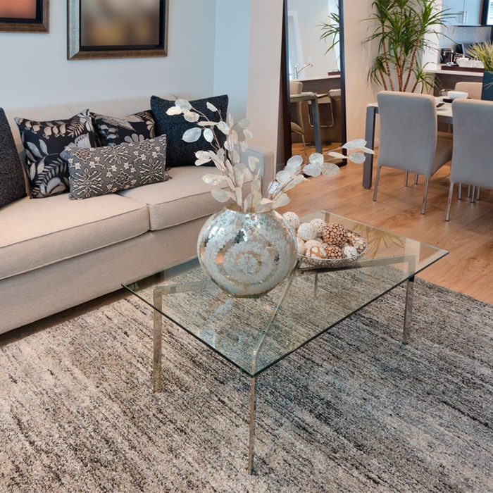 Small Room Ideas: Clear Furniture