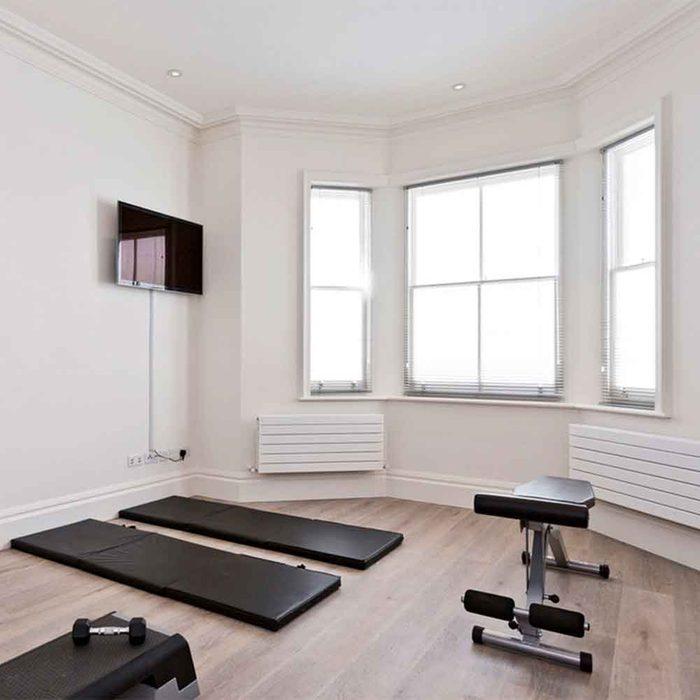 Bedroom Corner Home Gym Ideas