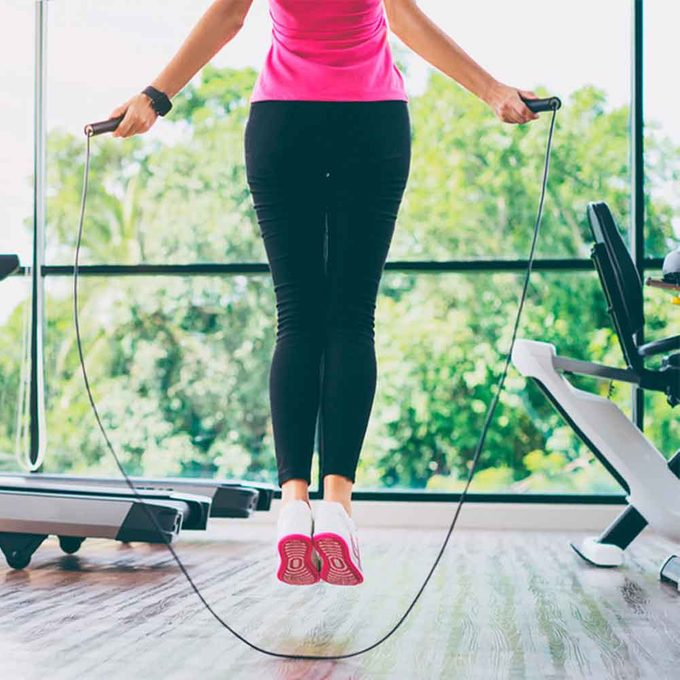 Try A Jump Rope Instead of a Treadmill
