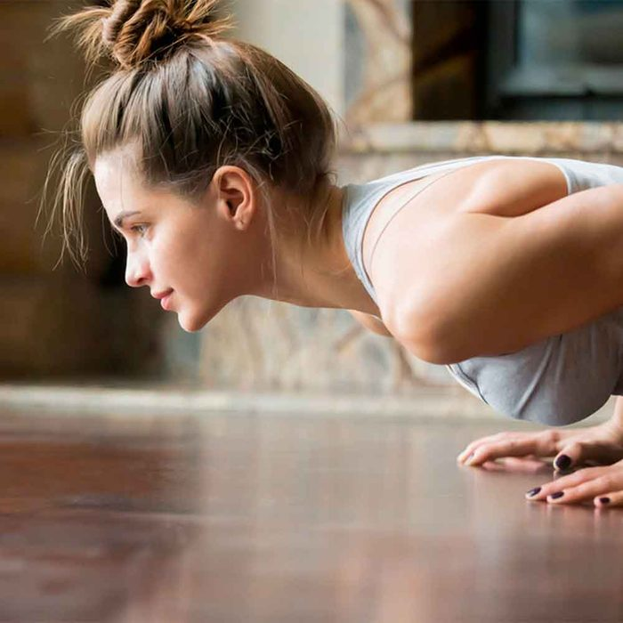 Body-weight Exercises Offer a Lot of Options