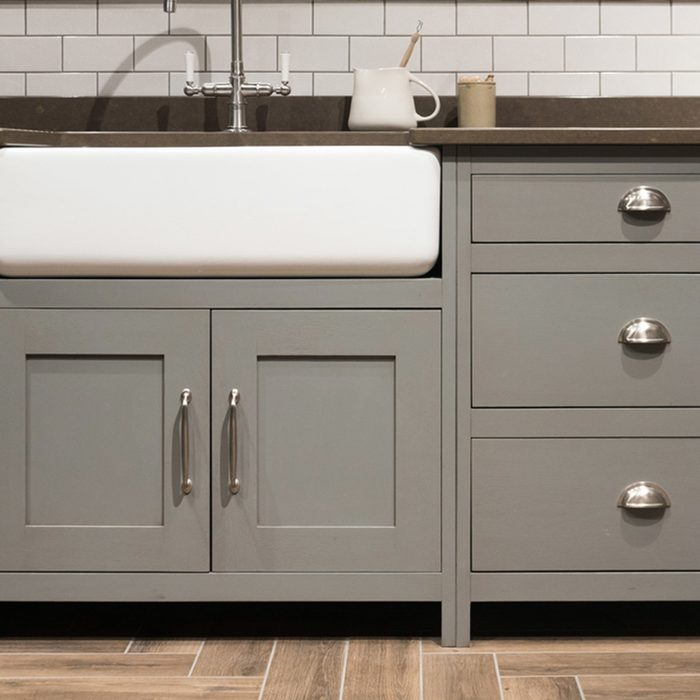 neutral gray cabinets