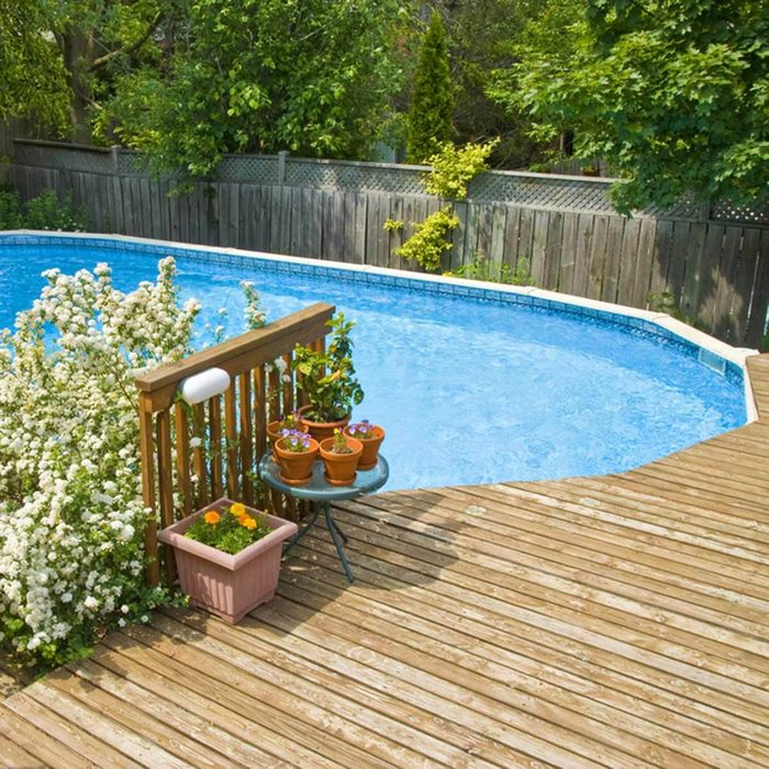 Above-Ground Swimming Pool Designs