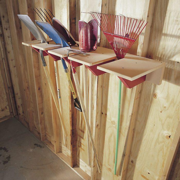 Long-Handled Tool Rack