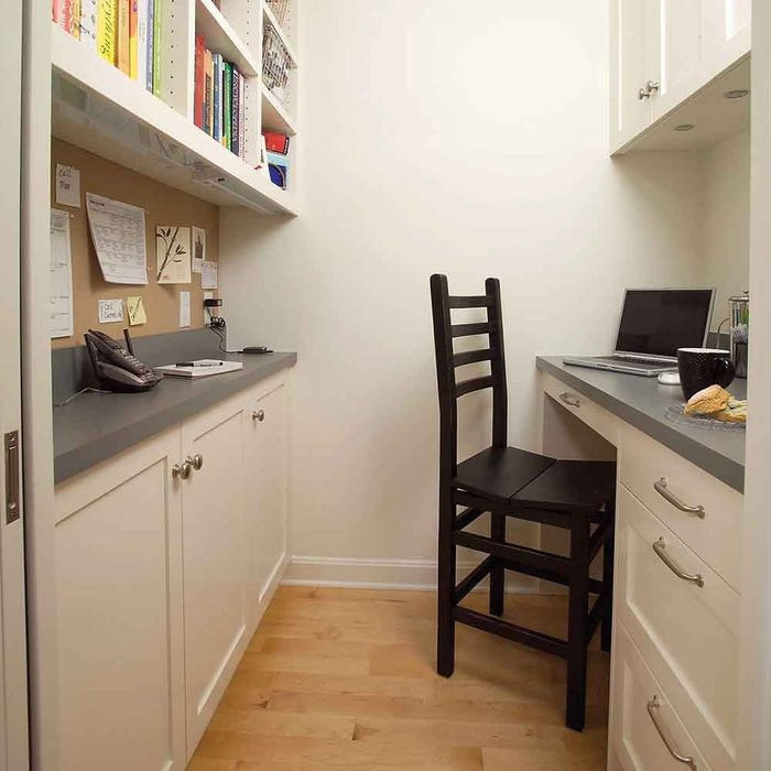 Make space for a mini office