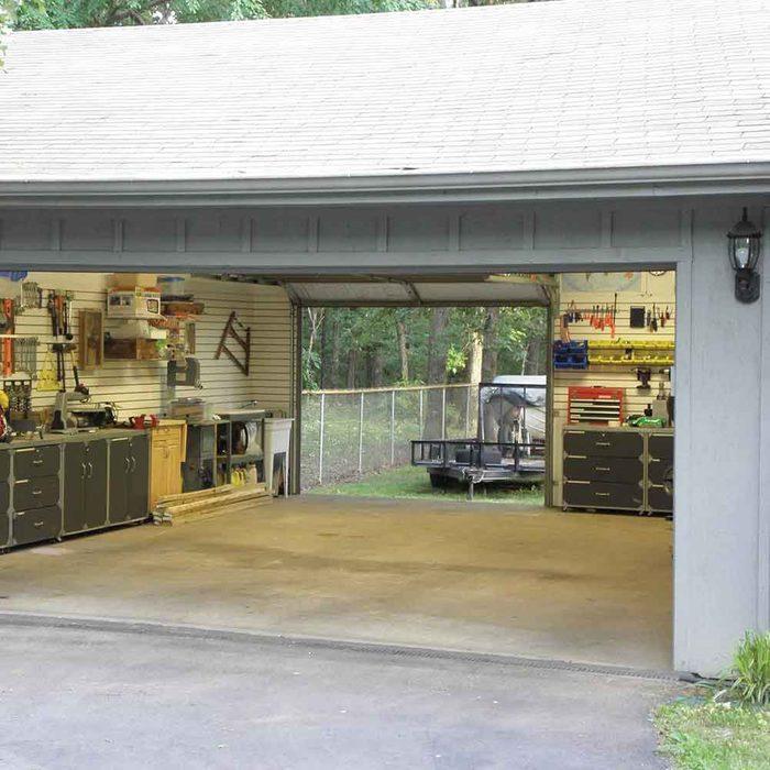 Make your garage a drive-through