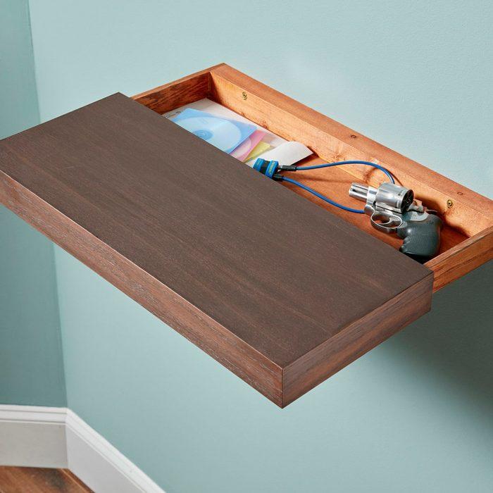 A Shelf with a Secret