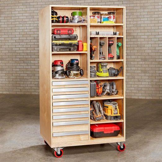 super-capacity tool cart