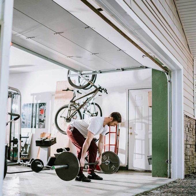 Set Aside a Part of Your Garage for a Home Gym