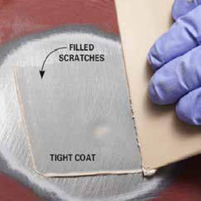 apply a tight coat
