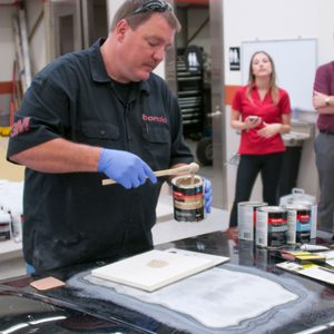 Learn how to fix an automotive dent from 3M and Chip Foose