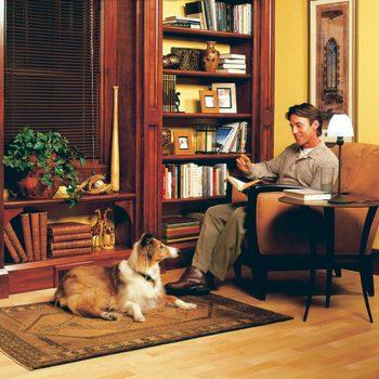 built-in bookcase built in bookshelves