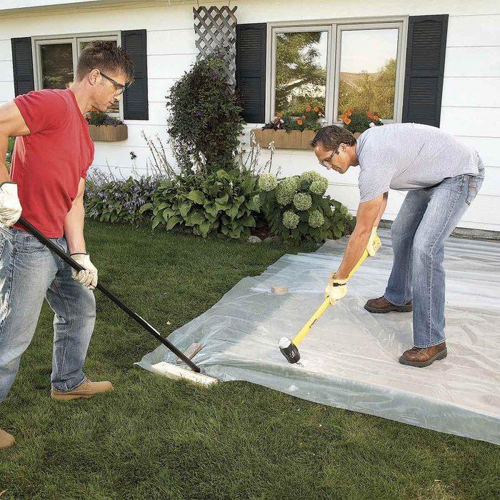 Cover a Concrete Slab
