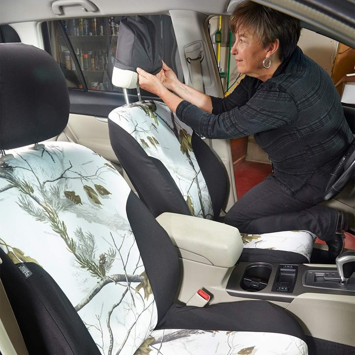 Replace seat covers