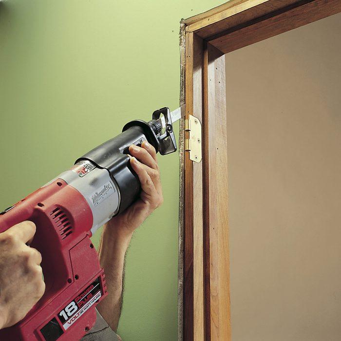 Removing a Door Jamb