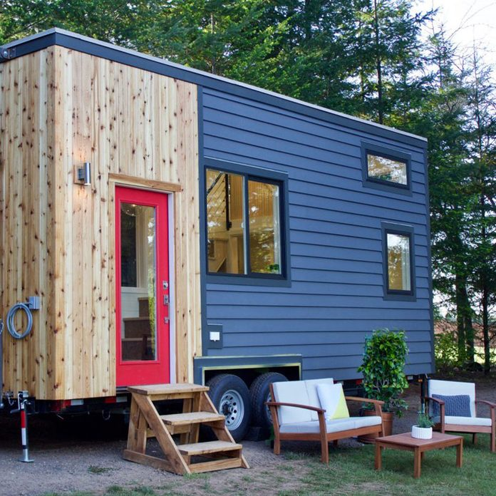 Tiny Heirloom House outside