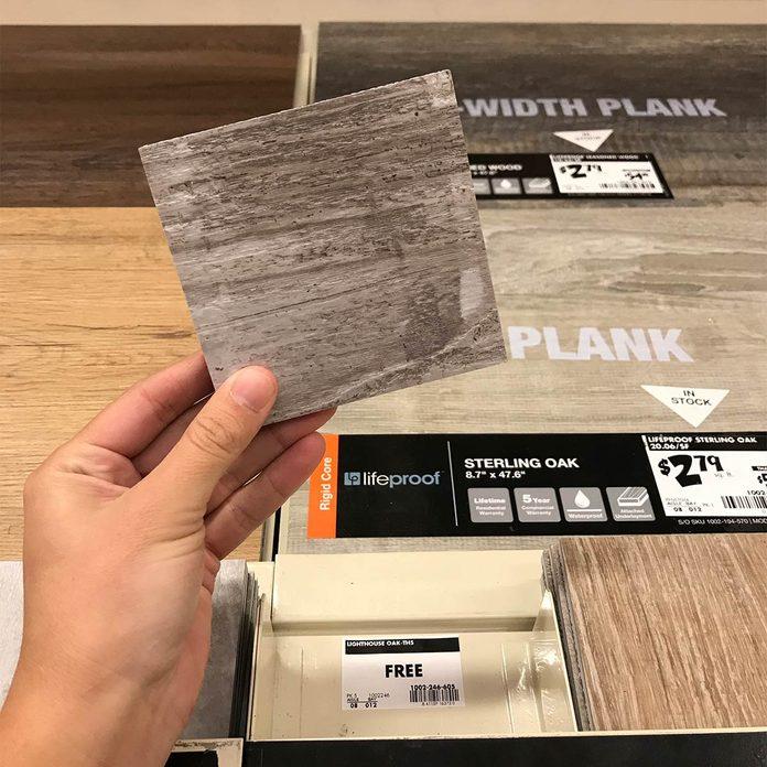 flooring sample coasters